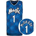 adidas Orlando Magic McGrady Swingman Basketball Trikot Herren blau / schwarz