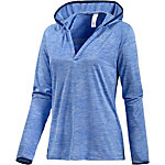 Under Armour TECH Kapuzenshirt Damen blau/melange