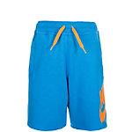 Nike French Terry Alumni Shorts Kinder blau