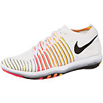Nike Free Transform Flyknit Fitnessschuhe Damen weiß/schwarz