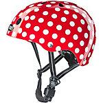 Nutcase Mini Dots Fahrradhelm rot/weiß