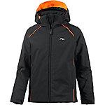 KJUS Skijacke Jungen schwarz/orange