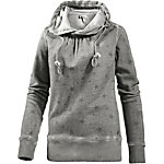 M.O.D Sweatshirt Damen grau washed