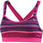 Moving Comfort Uprise Crossback Sport-BH Damen pink