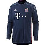 adidas FC Bayern 16/17 Heim Torwarttrikot Herren blau