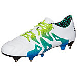 adidas X 15.1 Fußballschuhe Herren weiß / grün / blau