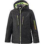 Ziener Skijacke Jungen schwarz/grün
