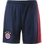 adidas FC Bayern München 16/17 Heim Fußballshorts Kinder blau