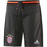 adidas FC Bayern Fußballshorts Kinder grau