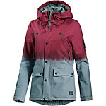 O'NEILL Jeremy Jones Elevation Snowboardjacke Damen weinrot/grün