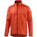 Salomon Agile Laufjacke Herren orange