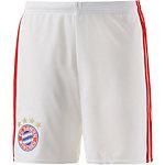 adidas FC Bayern München 16/17 Heim Fußballshorts Kinder weiß
