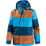Protest Snowboardjacke Jungen blau/orange
