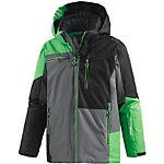CMP Skijacke Jungen grau/schwarz/grün