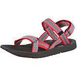 Source Stream Outdoorsandalen Damen rosa/grau