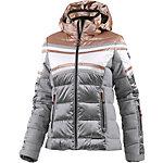CMP Skijacke Damen graumelange/bronze