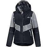 The North Face Floria Skijacke Damen schwarz/graumelange