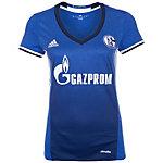 adidas FC Schalke 04 16/17 Heim Fußballtrikot Damen blau / weiß