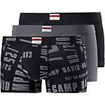 CAMP DAVID Boxer Herren schwarz/grau/print