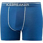 Icebreaker Anatomica Boxershorts Herren blau
