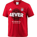 adidas FC Bayern Fanshirt Kinder rot