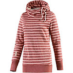 Ragwear Beat Stripes Sweatshirt Damen rot/rosa