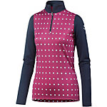 Icebreaker Oasis Funktionsshirt Damen pink/dunkelblau
