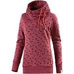 Ragwear Beat Print Organic Sweatshirt Damen rot melange