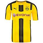 PUMA Borussia Dortmund Authentic 16/17 Heim Fußballtrikot Herren gelb / schwarz