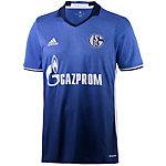 adidas FC Schalke 04 16/17 Heim Fußballtrikot Herren blau