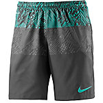 Nike Squad Funktionsshorts Herren grau/mint