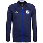 adidas FC Schalke 04 Trainingsjacke Herren dunkelblau / weiß