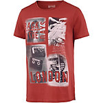 TOM TAILOR T-Shirt Herren rostrot