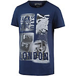 TOM TAILOR T-Shirt Herren blau