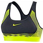 Nike Pro Hyper Classic Sport-BH Damen schwarz/gelb