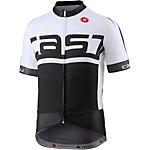 castelli Meta FZ Fahrradtrikot schwarz/weiß