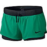 Nike Shorts Damen grün/schwarz