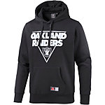 Majestic Athletic Oakland Raiders Hoodie Herren schwarz