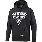 Majestic Athletic Oakland Raiders Hoodie Herren schwarz