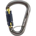 SALEWA Belay Twist Lock Karabiner grau