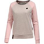 Naketano Langarmshirt Damen beige/rosa melange
