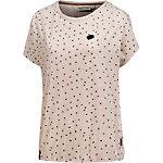 Naketano T-Shirt Damen beige melange