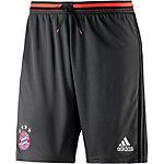 adidas FC Bayern Fußballshorts Herren grau