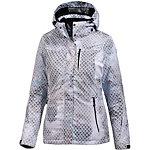KILLTEC Ziba Skijacke Damen grau/weiß