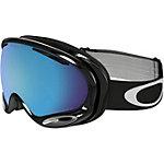 Oakley A-FRAME 2.0 Snowboardbrille jet black/prizm sapphire iridium