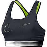 Nike Pro Classic Sport-BH Damen schwarz/neongelb