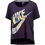Nike T-Shirt Damen dunkellila