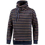 Ragwear Hooker Stripes Organic Sweatshirt Herren dunkelblau/braun
