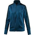 adidas Trainingsjacke Damen blau/schwarz