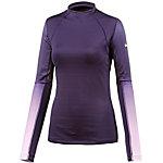 Nike Pro Funktionsshirt Damen dunkellila/flieder